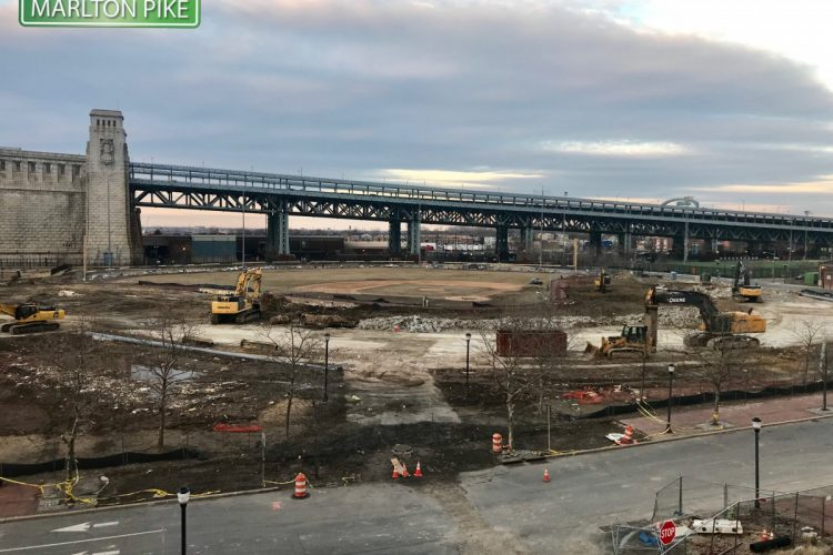Campbell's Field Camden Is Completely Gone.   Rutgers Fields To Be Developed