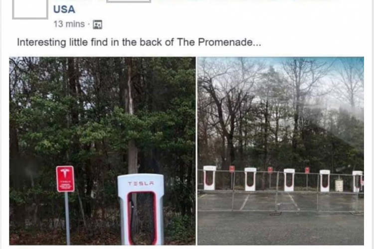 Tesla Superchargers Opening Soon At Promenade Marlton
